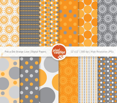 PxC Pok-a-Dot Orange Love Pack